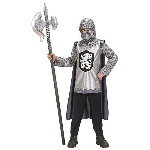 Widmann wdm58656 - costume per bambini cavaliere cuor di leone(128 cm/5-7 anni), nero, xxs