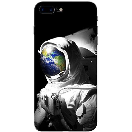 Astronautenanzug & Spiegelbild der Erde Hartschalenhülle Telefonhülle zum Aufstecken für Apple iPhone 8 Plus