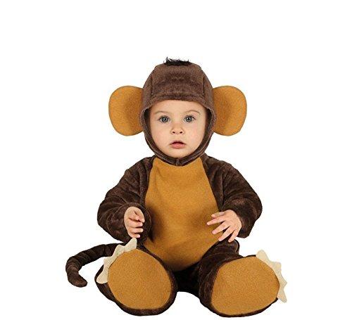 Guirca - costume baby monkey - travestimento scimmietta 12-24 mesi
