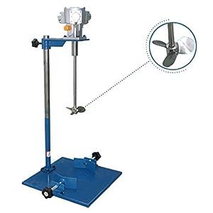Newtry Ea230 – Mezclador vertical manual de elevación neumática/batidora líquida/tinta DYE mezclador dispersador mezclador/máquina de tinta Agitador para pintura, productos químicos