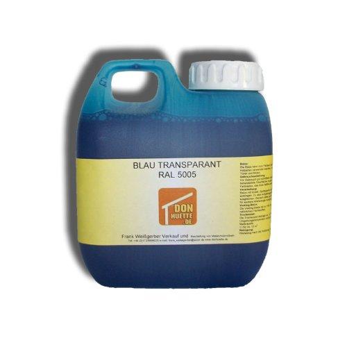 Beize Holzbeize Blau 500 ml RAL 5005 GP € 21,98 / l