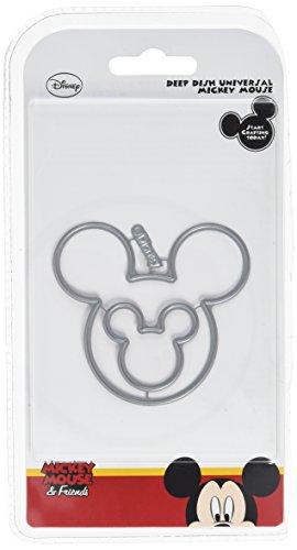 Disney Mickey Mouse Scrapbooking (Disney Vintage Deep Dish Universal Mickey Mouse sterben Set, Silber)