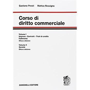 Corso Di Diritto Commerciale. Con Contenuto Digitale Per Accesso On Line: 1-2