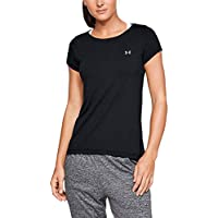 Under Armour Women's Ua Hg Armour Short Sleeve Short Sleeve Compression Undershirt for Exercise, Men's Gym Top with HeatGear Fabric