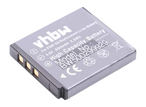 vhbw Batterie dŽAppareil Photo pour FUJIFILM FinePix X10, X20, XP150, XP170, XP200, XF1 comme Fuji NP-50, Kodak Klic-7004.