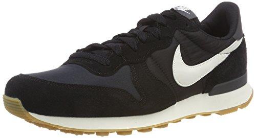 Nike Damen WMNS Internationalist 828407-021 Sneaker, Schwarz (Black, 38.5 EU