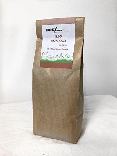 RoC-Sports Bio Protein Brotbackmischung BROTein | 100% Bio | Eiweißbrot zum Selbermachen | hoher Proteingehalt | wenig Kohlenhydrate