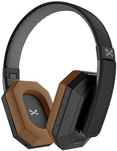Ghostek sodrop Pro Wireless Kopfhörer Headset aktiver Geräuschunterdrückung Bluetooth 4.1- Mikrofon- Schwarz