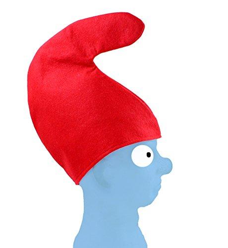 Grill-Poker-Kostüm-Shop 7 x Zwergenmütze Mütze rot Zwerg