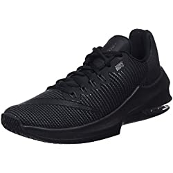 Nike Air Max Infuriate 2 Low, Zapatillas de Baloncesto para Hombre, Negro (Black/Black/Anthracite/Mtlc Dark Grey 001), 40 EU