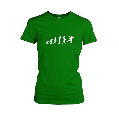 Texlab - Handball Evolution - Damen, T-Shirt, Größe XL, grün