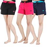 #9: Nite Flite Athletic Cotton Hot Shorts-Pack of 3