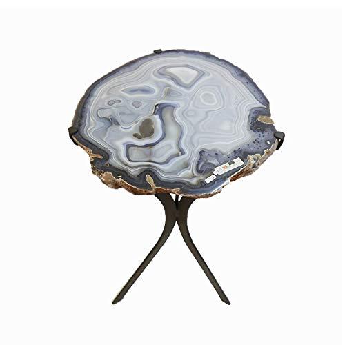 Preisvergleich Produktbild Mineral Import Tisch mit Achatplatte T4