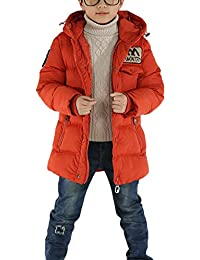 Kinder Jungen Winterjacke Mit Kapuze Jacket Wintermantel Mantel Parka Blouson Outerwear