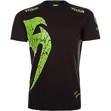 Venum–Camiseta para hombre original Giant, hombre, T-Shirt Original Giant, Schwarz/Neon Gelb, medium