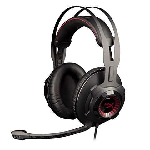 HyperX Cloud Revolver Pro Gaming Stereo Headset for PCs/Xbox One/PS4/Wii U/Mac - Black