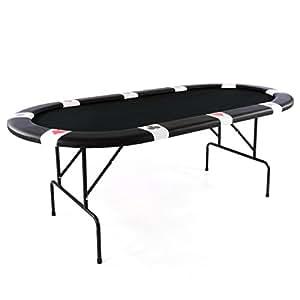 Pokertisch Casino Tisch klappbar für bis zu 10 Personen ...
