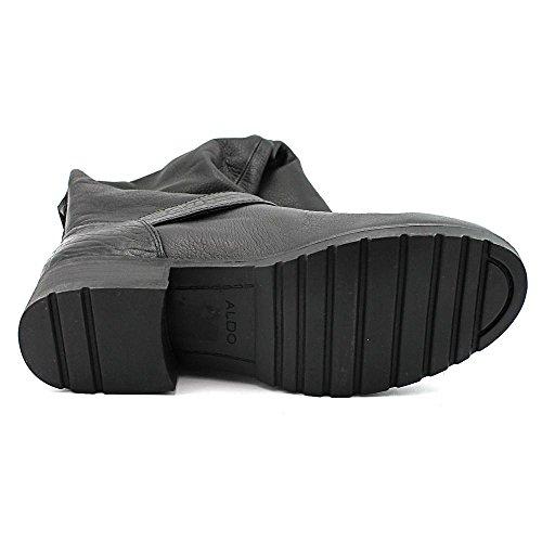 Couro Em botas Joelho De Rodada Alto Moda Aldo Preto Cano Nydaesen wcEtqAYtX