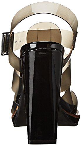 Steve Madden HI -TOP, sandales femme Noir (Black)