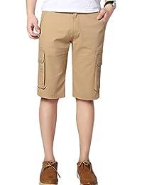 YiJee Cargo Shorts Multi-Poches Boardshorts Militaire Bermuda Homme