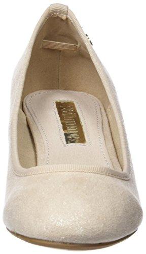 XTI 30707, Scarpe Col Tacco Punta Chiusa Donna Oro (Gold)