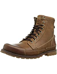 "Timberland Men's Earthkeepers 6"" Lace-Up Boot Burnished Brown 10.5 2E US"