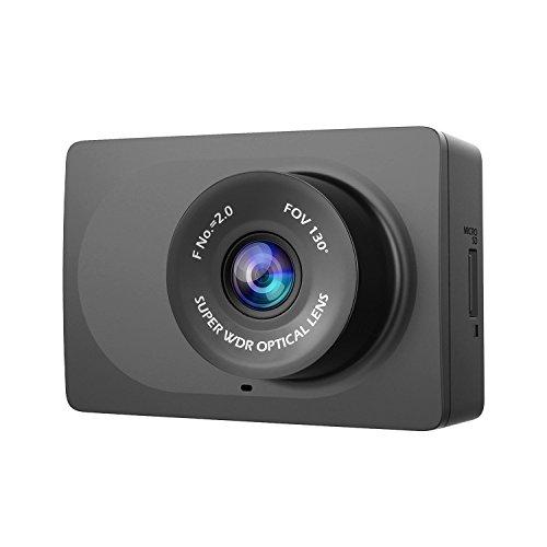 YI Kompakt Dash Camera 1080p Auto Kamera Full HD Dashcam mit Nachtsicht 6,68 cm (2,7 Zoll) LCD Bildschirm 130° Weitwinkelobjektiv, Auto DVR Kfz Kamera Dash Kamera mit G-Sensor, WLAN und APP für IOS/Android - schwarz (Aufbau Einer Ios-app)
