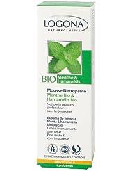 Logona - 1001mouss - Soin du Visage - Mousse Nettoyante Menthe Bio / Hamamélis Bio - 100 ml