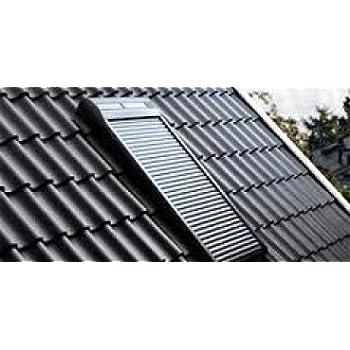 VELUX Solar Rollladen »SSL« SK06, S06, 606 In Anthrazit SK06, S06, 606,  Anthrazit