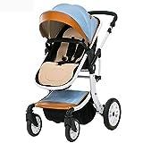 SKYyao Kinderwagen,Sportwagen,Baby Kinderwagen hohen Landschaft kann Wesen liegenden Baby Auto 0-3 jährige Kind Kinderwagen Falten