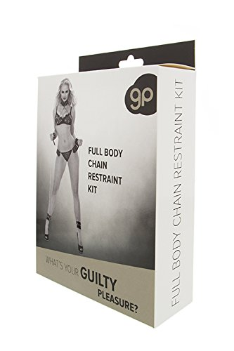 Guilty Pleasure BDSM Ganzkörper-Ketten-Fessel-Set schwarz