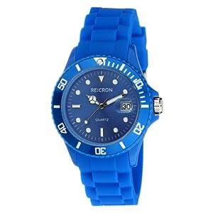 Blaue RE:CRON Unisex Armbanduhr Analog Uhr // verschiedene Farben wählbar