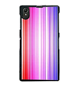 Fiobs Designer Back Case Cover for Sony Xperia Z1 :: Sony Xperia Z1 L39h :: Sony Xperia Z1 C6902/L39h :: Sony Xperia Z1 C6903 :: Sony Xperia Z1 C6906 :: Sony Xperia Z1 C6943 (jaipur rajasthan african america cross pattern)