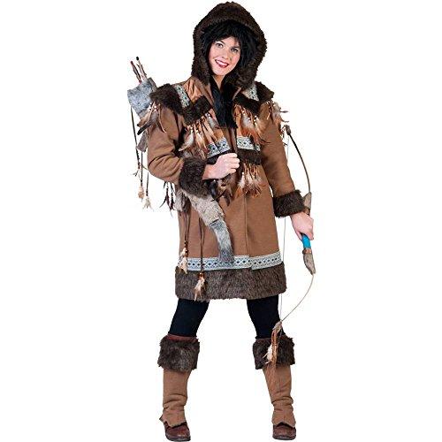 (Generique - Eskimo-Kostüm für Damen)