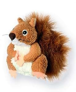 Marionnettes à doigts Animaux de la forêt - Écureuil (roux)