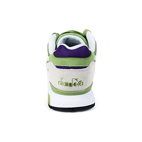 Diadora V7000 Nyl Ii, Sneaker a Collo Basso Unisex-Adulto Verde