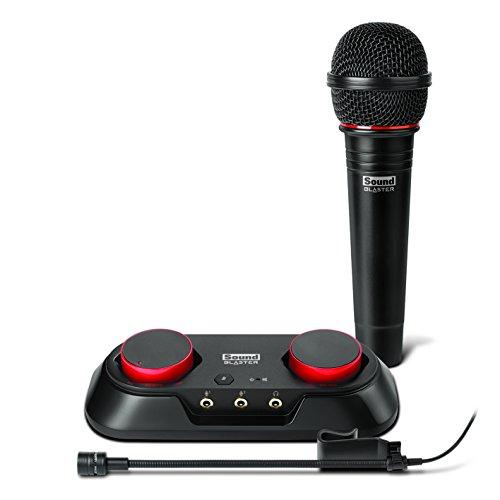 Creative Sound Blaster R3 - Audioaufnahme und Streaming Kit für YouTube, schwarz