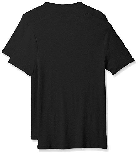 G-STAR Herren T-Shirt Base R T S/s 2-pack Schwarz (Black 990)