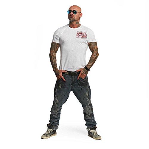 Yakuza Original Herren UNTD T-Shirt Weiß