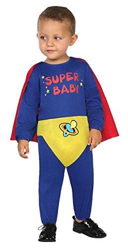 Atosa 30557 - Super Held, Babykostüm, 0-6 Monate (Hund Super Helden Kostüme)