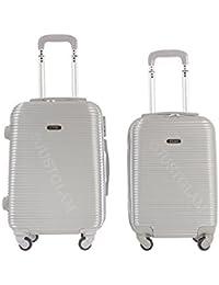 Maleta cabina 50 y 55 cm 4 ruedas trolley cascara dura adecuadas para vuelos de bajo coste art 1165