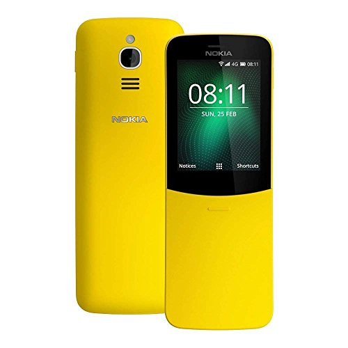 Nokia 8110 4G Dual Sim (Yellow)