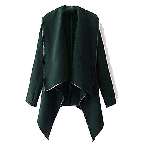 Baseball Bomberjacke Damen Blazer Jacken Loose Outdoorjacke Outwear Asymmetrisch Mantel Strickjacke Jacke Winterjacke Kunstleder-Jacke...