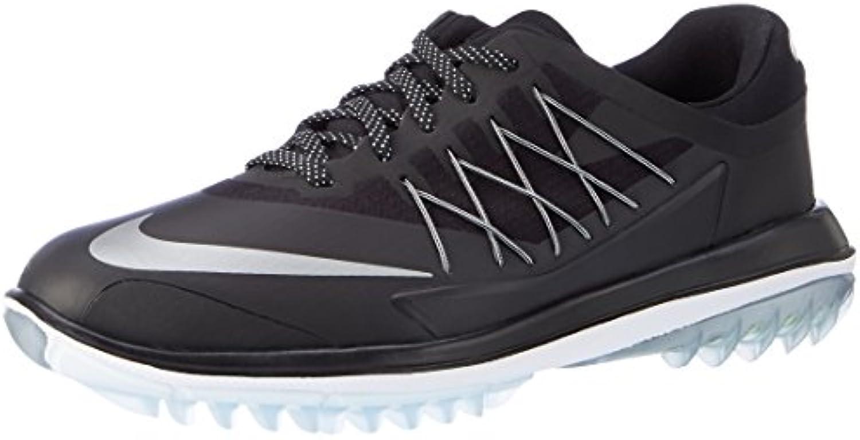 Nike Lunar Control Vapor - Zapatillas Deportivas de Golf para Hombre, Color Negro/Plata, Talla 43