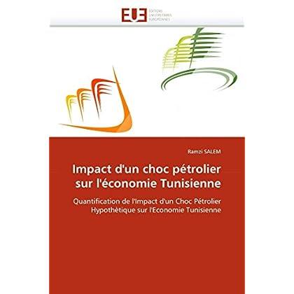 Impact d''un choc pétrolier sur l''économie tunisienne