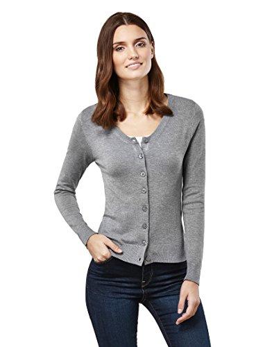 VB -  Cardigan  - Basic - Maniche lunghe  - Donna grigio S