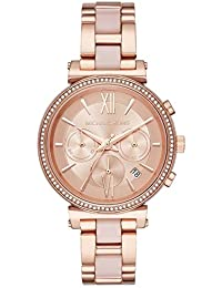 Michael Kors Women's Analogue Quartz Watch with Stainless Steel Strap MK6560