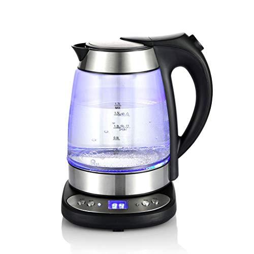 MXYXN Wasserkocher Wasserkocher Schnellkochend Thermostatischer Kochgeschirrschutz Auto Abschaltung Für Reise Tragbare Temperaturregelung