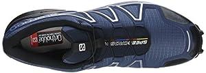 Salomon Men's Speedcross 4 Trail Running Shoes, Blue (Slateblue/black/blue Yonder), 10.5 UK