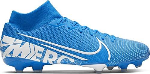 Nike Unisex-Erwachsene Superfly 7 Academy FG/MG Fußballschuhe, Mehrfarbig (Blue Hero/White-Obsidian 414), 46 EU -
